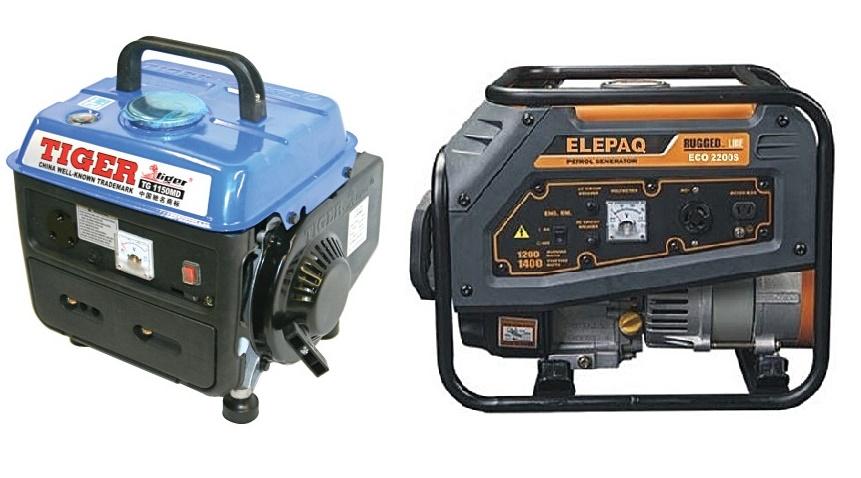 Small (Portable) Generators Review & Price In Nigeria